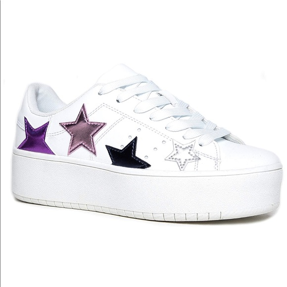 8f254797c J. Adams Platform Lace-Up Sneaker